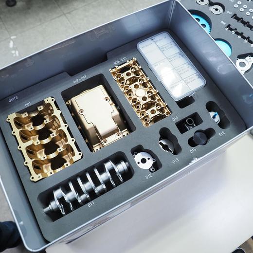 四缸发动机模型——全金属 商品图2