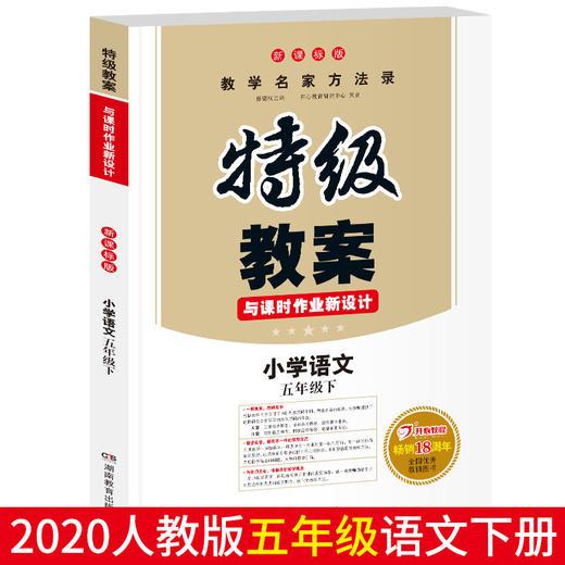 【开心图书】小学1-6年级语文下册特级教案全国畅销18周年纪念版 商品图9