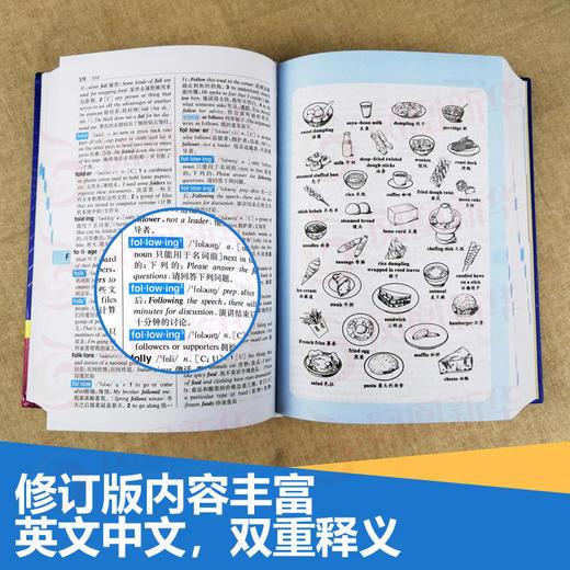 【开心图书】高中英语语法全解+英汉双解大词典(原版大开本/缩印版) 商品图3
