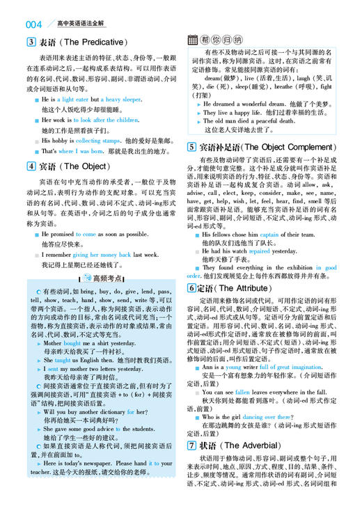 【开心图书】高中英语语法全解+英汉双解大词典(原版大开本/缩印版) 商品图13