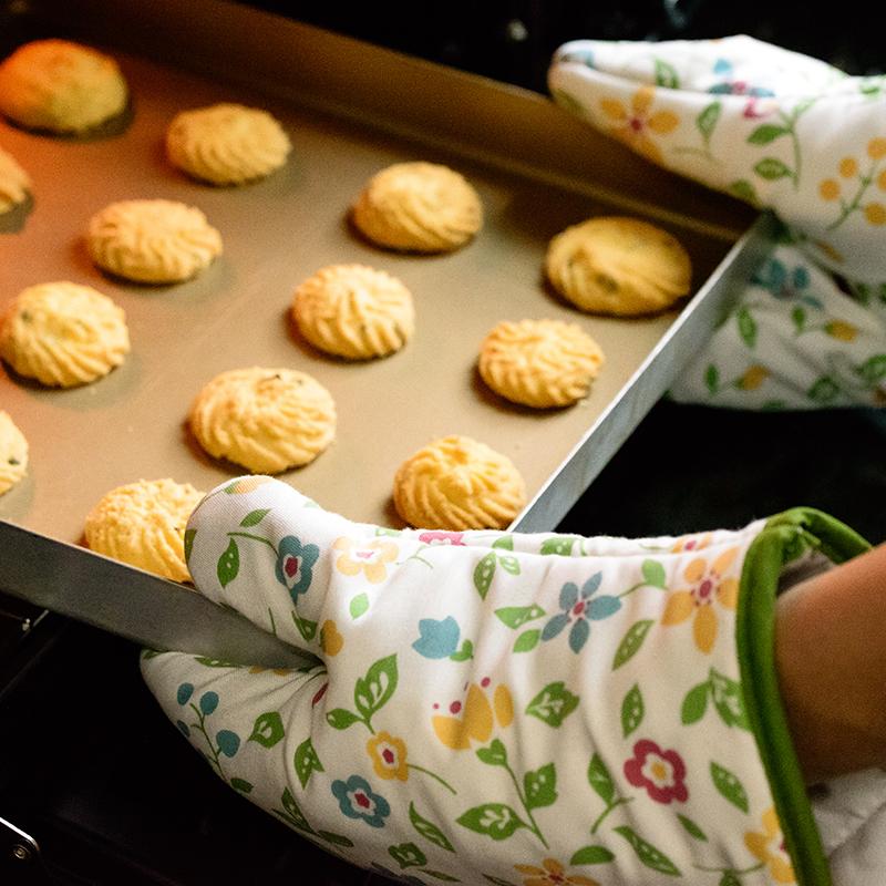 百钻隔热手套 防烫隔热 厚实耐用 厨房烤箱微波炉专用 1只 商品图4