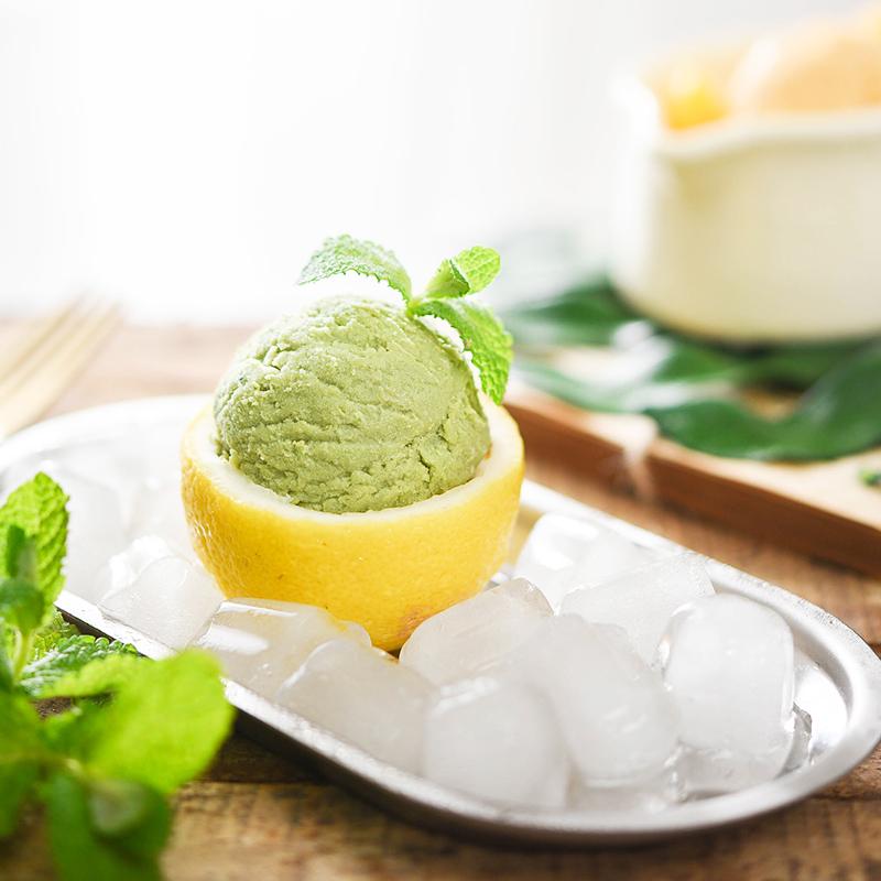 百钻冰淇淋粉 自制家用雪糕粉 香草抹茶口味手工diy冰激凌粉100g 商品图3