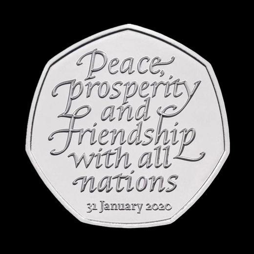 """""""脱欧""""纪念币 英国皇家造币厂发行 商品图2"""