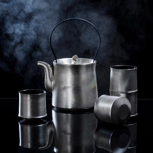 陶溪川 景德镇新中式提梁壶镀银茶具套装 商品图0