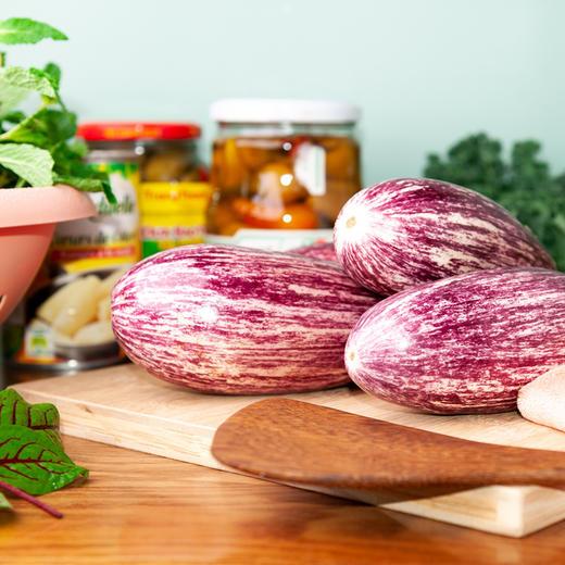 5斤装云南蔬菜花皮茄子 鲜嫩饱满 花色独特 云南特色产地现摘新鲜发货 商品图3