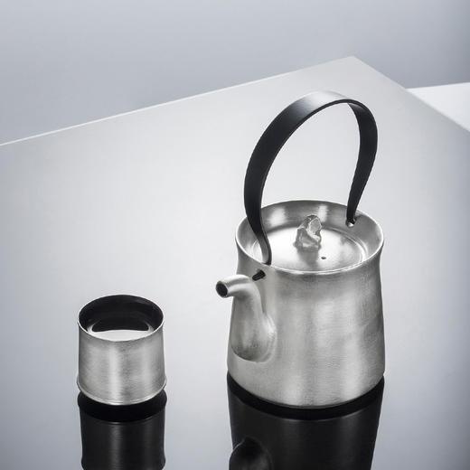 陶溪川 景德镇新中式提梁壶镀银茶具套装 商品图1