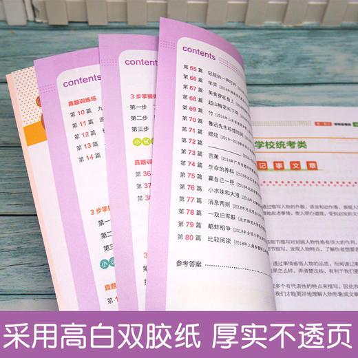 【开心图书】全彩统编版一二三年级下册小帮手同步专项训练+阅读真题+阶梯阅读+试卷套装(十点读书) 商品图10