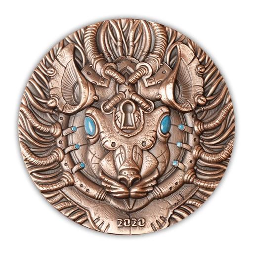 【上海造币】2020《奇幻鼠》系列之双金属大铜章(99mm) 商品图2