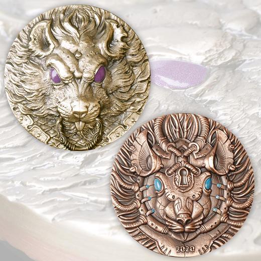 【上海造币】2020《奇幻鼠》系列之双金属大铜章(99mm) 商品图0