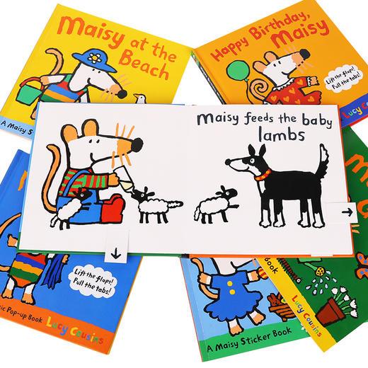 【MM】小鼠波波Maisy套装12册 点读版 (塑封装+礼盒装)多规格均不带笔 商品图6