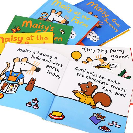 【MM】小鼠波波Maisy套装12册 点读版 (塑封装+礼盒装)多规格均不带笔 商品图7