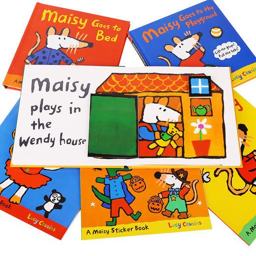 【MM】小鼠波波Maisy套装12册 点读版 (塑封装+礼盒装)多规格均不带笔 商品图4