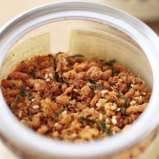 [芝麻海苔肉松]台式肉松 口感鲜香 100g/罐 两罐装/三罐装 商品图1
