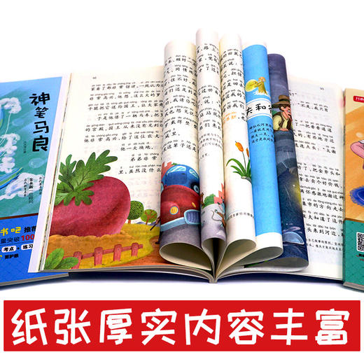 二年级下册快乐读书吧玩具/神笔/花/愿望+好词好句好段点评版全5册(玲儿老师) 商品图7