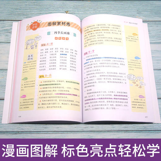 二年级下册快乐读书吧玩具/神笔/花/愿望+好词好句好段点评版全5册(玲儿老师) 商品图11