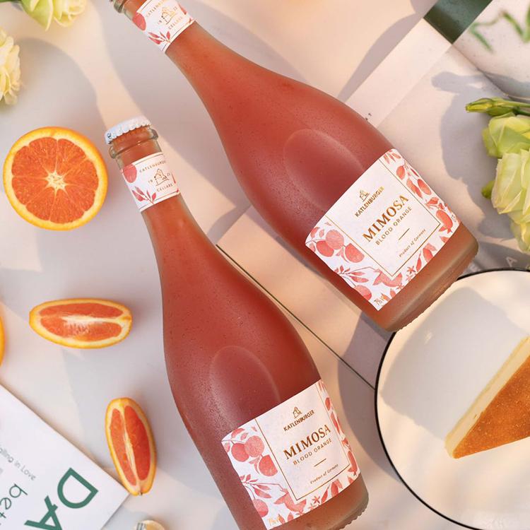 [ Mimosa含羞草血橙鸡尾酒]德国凯特伦堡出品 750ml 商品图2