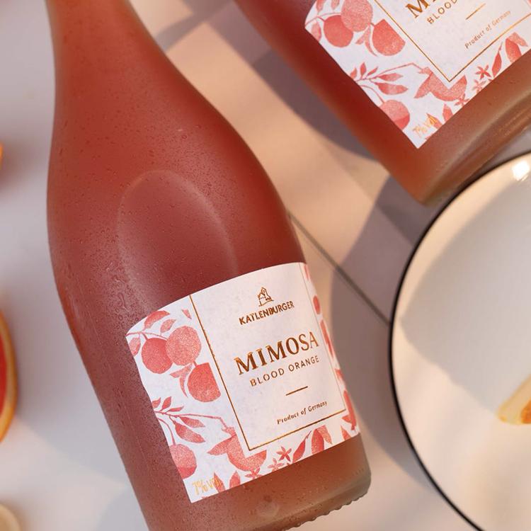 [ Mimosa含羞草血橙鸡尾酒]德国凯特伦堡出品 750ml 商品图1