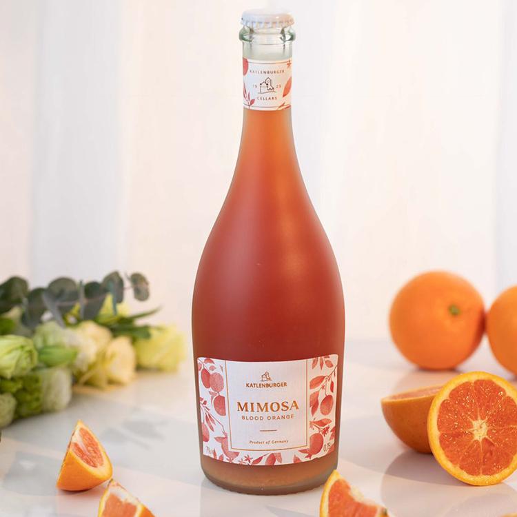 [ Mimosa含羞草血橙鸡尾酒]德国凯特伦堡出品 750ml 商品图3