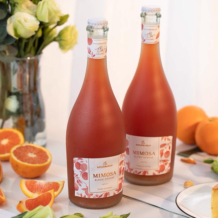 [ Mimosa含羞草血橙鸡尾酒]德国凯特伦堡出品 750ml 商品图0