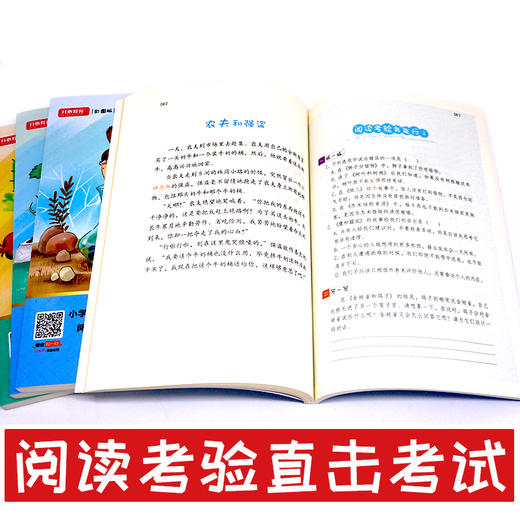 【开心图书】1-6年级下册统编版快乐读书吧+我爱同步作文全系列 商品图9