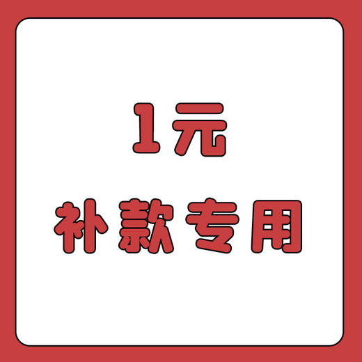 【1元】补款专用 商品图0
