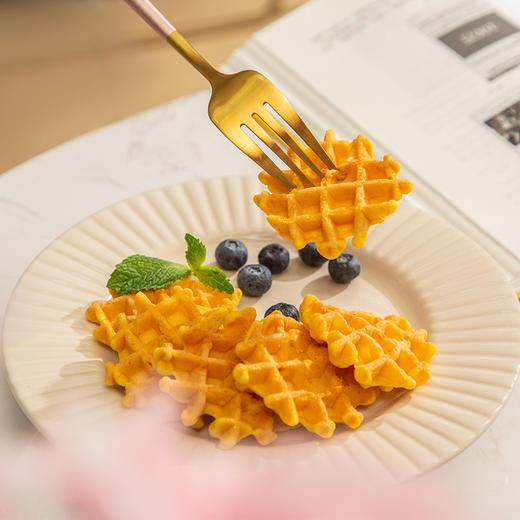 叮咚熊华夫饼 软嫩香浓 鸡蛋风味麦力格软华夫 158g*3盒 商品图3