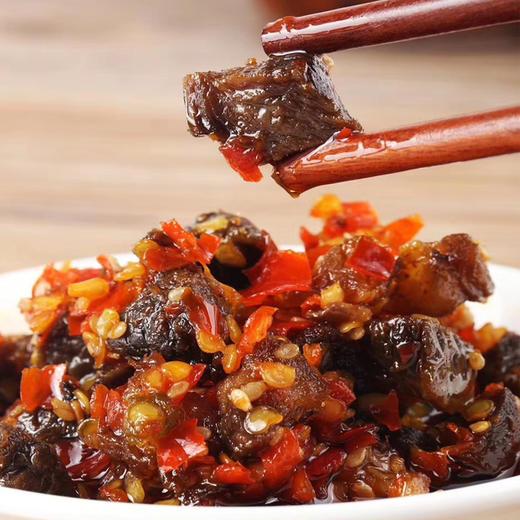 湖南手作牛肉辣椒酱,下饭香到不用菜 商品图2