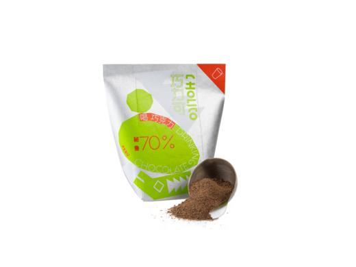 [喝巧克力]可以喝的黑巧 秘鲁产区/乌干达产区/印度产区 三种可选 200g 商品图4