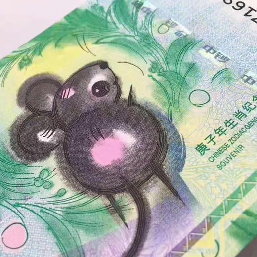 2020年鼠年生肖邮票纪念券珍藏册 商品图2
