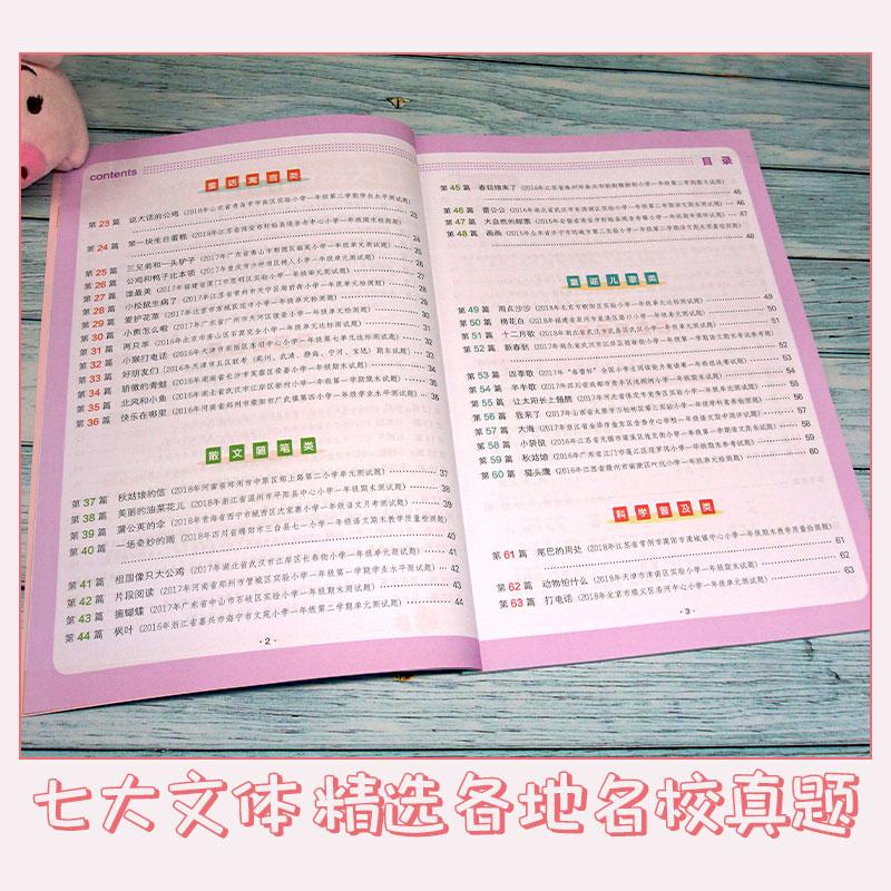 1-2年级语文阶梯阅读训练+阅读真题+拼音标点大全(艳子老师) 商品图9