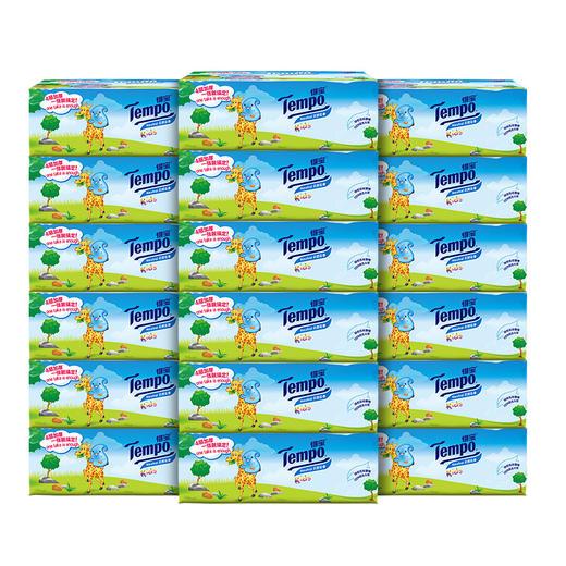 Tempo得宝软抽纸巾婴儿专用4层加厚90抽18包整箱装纸巾 商品图2