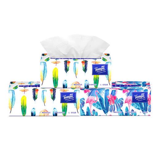 Tempo得宝软抽纸巾 Mini系列4层加厚80抽18包整箱装 商品图3