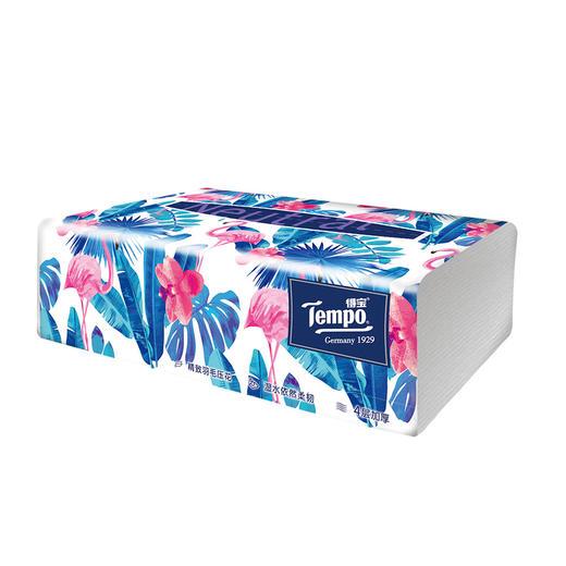 Tempo得宝软抽纸巾 Mini系列4层加厚80抽18包整箱装 商品图6