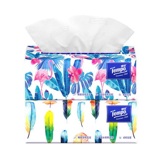 Tempo得宝软抽纸巾 Mini系列4层加厚80抽18包整箱装 商品图2