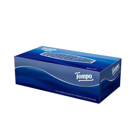 Tempo得宝纸巾盒装抽纸3层90抽4盒 硬盒抽纸餐巾纸盒装 商品图3