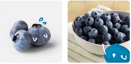 【嘉兴市包邮】怡颗莓 当季云南蓝莓4盒装 约125g/盒 新鲜水果 商品图4