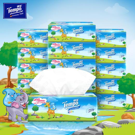 Tempo得宝软抽纸巾婴儿专用4层加厚90抽18包整箱装纸巾 商品图0