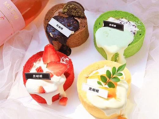 小四喜淋面蛋糕卷·四口味组合小蛋糕 商品图0