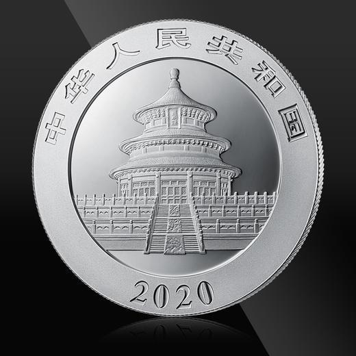 """2020年熊猫""""抗疫""""纪念银币封装版(赠礼盒) 商品图5"""