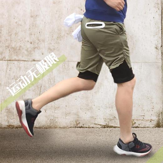 【为思礼】【手机不掉,运动必备】多功能速干运动短裤,透气速干,多口袋毛更实用,潮流百搭! 商品图1