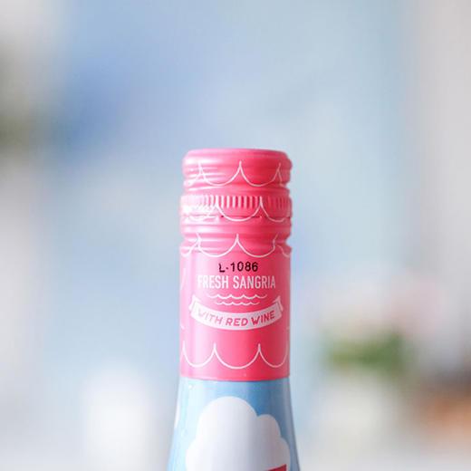 [阳光海岸桑格利亚葡萄配制酒]偏半甜红葡萄酒质感 750ml 商品图2