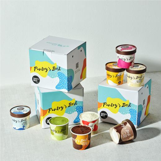 [意式冰淇淋礼盒]八种口味 口感绵密 8杯装 商品图2
