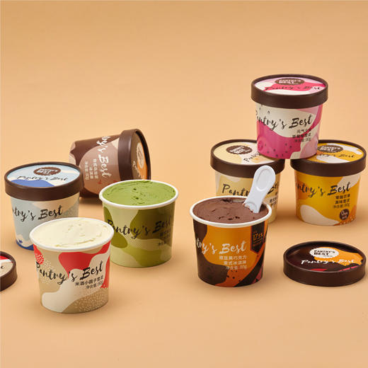 [意式冰淇淋礼盒]八种口味 口感绵密 8杯装 商品图0