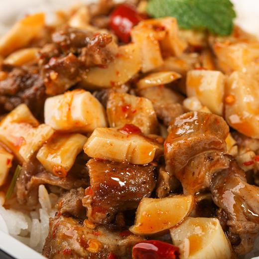 [双菜包自热米饭]15分钟速烹 方便快捷 四盒装 商品图4