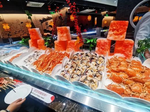 【合乐城】49元-59元抢蓉府单人自助餐!火锅、烤肉、海鲜...一次吃个爽!全场上百种食材自助任意吃! 商品图0