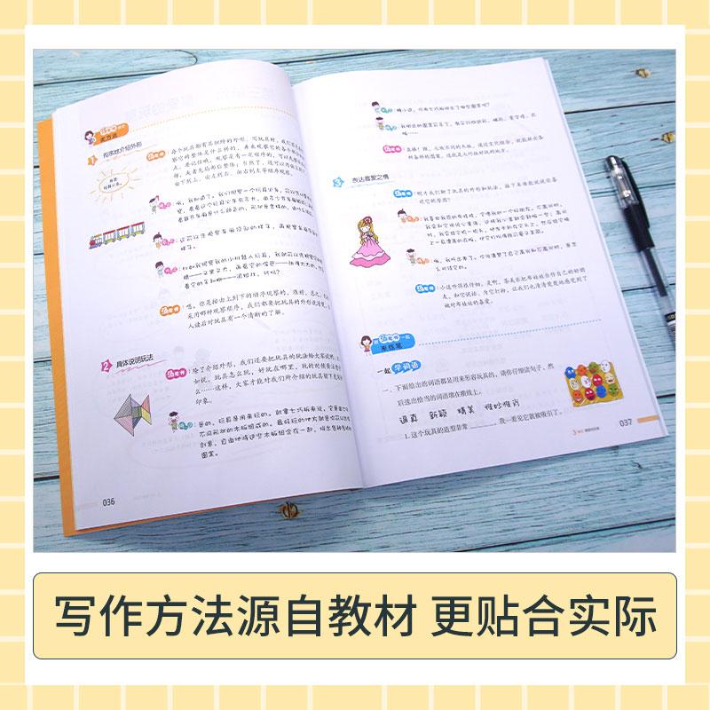 2年级上册同步作文+阅读真题+送看图作文黄绿网络版 A 商品图3