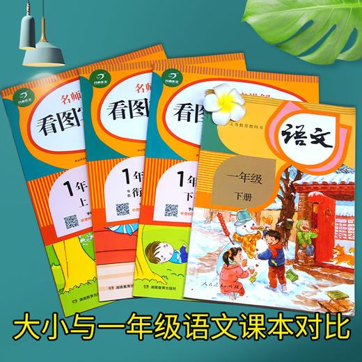 【开心图书】1-2年级语音讲解看图写话3册+作业本3册 商品图5
