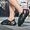【拖鞋+凉鞋+跑鞋】黑科技潮流洞洞机能鞋,前卫设计,时尚达人常备,全橡塑一体注塑成型,柔软不断跟,透气好,易清洗!逛街、上班都能穿! 商品缩略图5