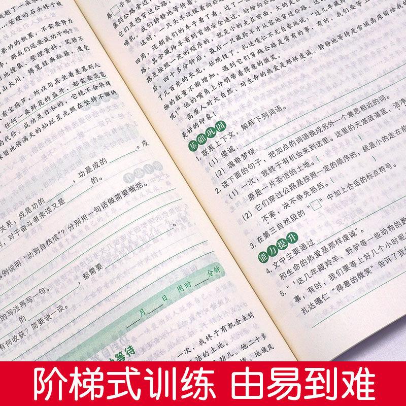 【开心图书】1-6年级下册全彩语文数学英语期末冲刺试卷+限时送双色版语文阶梯阅读 A 商品图12