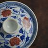 云亼堂 手绘青花釉里红盖碗 商品缩略图3